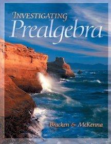 9780030226243: Investigating Prealgebra