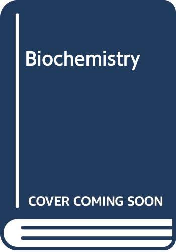 9780030226328: Biochemistry (Solutions Manual)