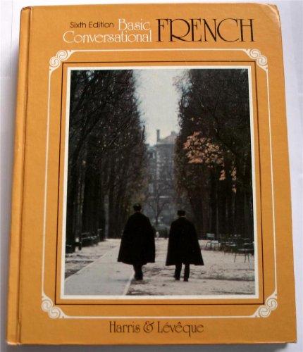9780030227356: Basic conversational French