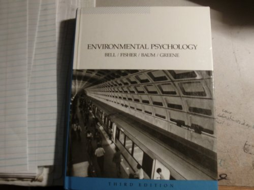 9780030228094: Environmental Psychology