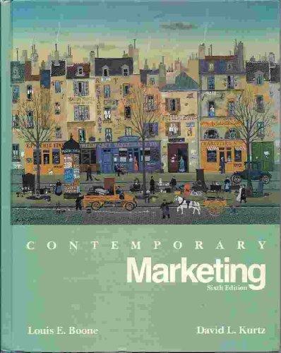 9780030228148: Contemporary Marketing