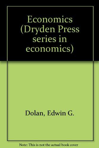 9780030228346: Economics (The Dryden Press series in economics)