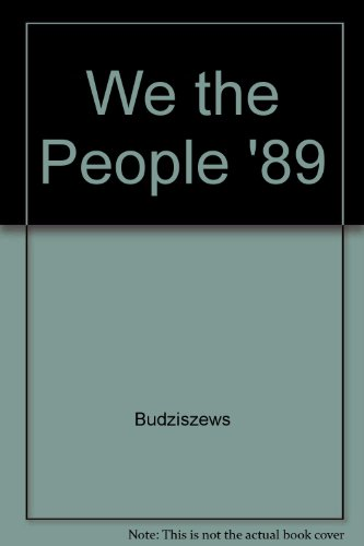 9780030228872: We the People, '89