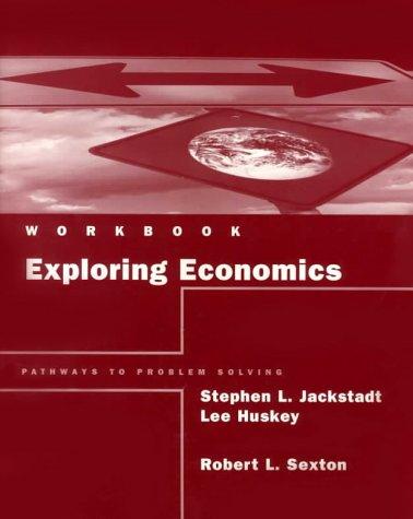 9780030229299: Exploring Economics : Pathways to Problem Solving, Workbook