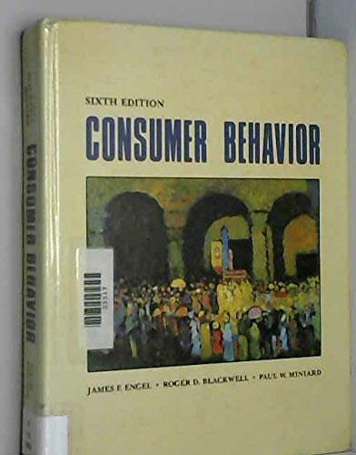 9780030229794: CONSUMER BEHAVIOR 6E