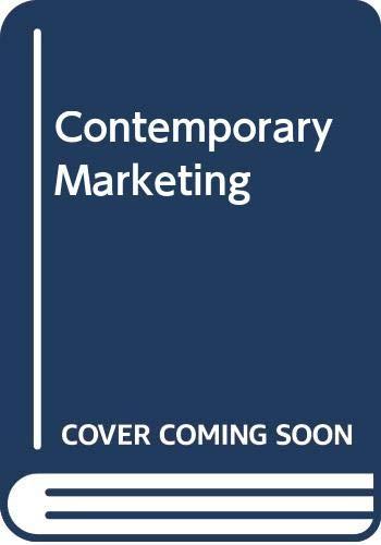 9780030229824: Contemporary Marketing