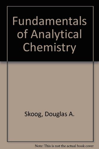 9780030229930: Fundamentals of Analytical Chemistry