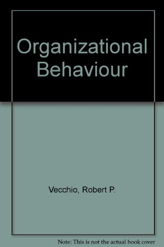 9780030229978: Organizational Behaviour