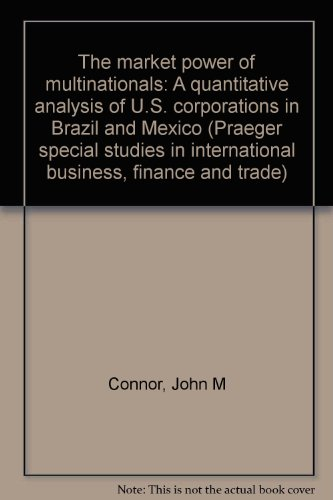 The market power of multinationals: A quantitative analysis of U.S. corporations in Brazil and ...