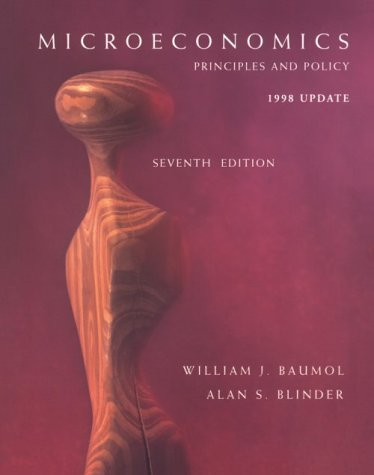 9780030231643: Microeconomics: Principles and Policy