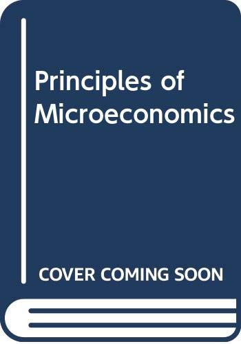 9780030233166: Principles of Microeconomics