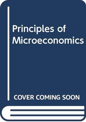 9780030233166: Principles of Microeconomics