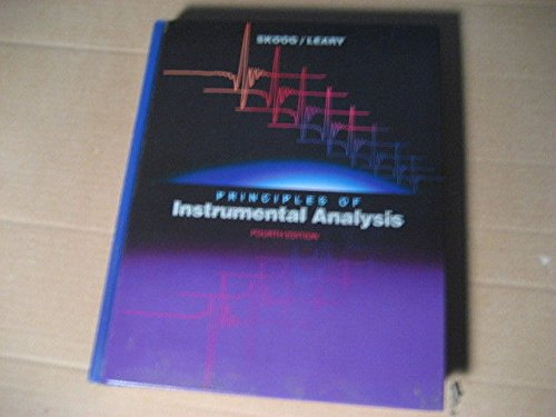 9780030233432: Principles of Instrumental Analysis