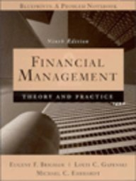 9780030233685: Financial Management: Theory and Practic (Study Guide, 9th Edition)