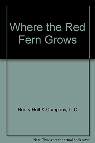 9780030234330: Where the Red Fern Grows (Study Guide)