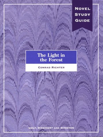 9780030234392: Light in the Forest (Study Guide)