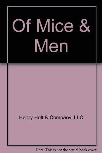 9780030234491: Of Mice & Men