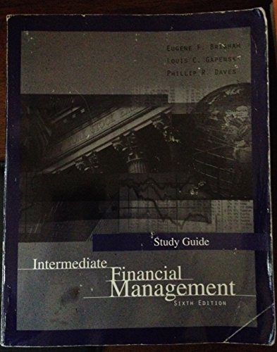 9780030234613: Intermediate Financial Management