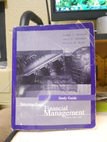 9780030234613: Intermediate Financial Management (Study Guide)