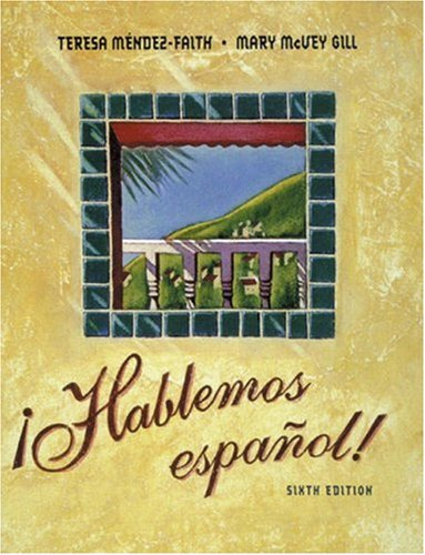 9780030236068: ¡Hablemos español! (with Audio CD)