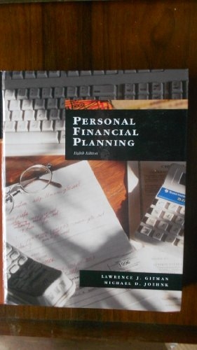 9780030236914: Personal Financial Planning (The Dryden Press series in finance)