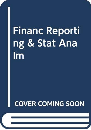 9780030238123: FINANC REPORTING & STAT ANA IM