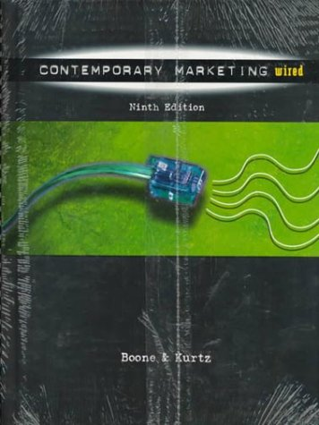 9780030242144: PKG:CONTEMP MARKETING,9E+DYMCCD-ROM (9th Ed. Includes Cd-Rom) (Dryden Press Series in Marketing)