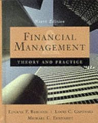 9780030243998: Financial Management: Theory and Practice (9th Edition)