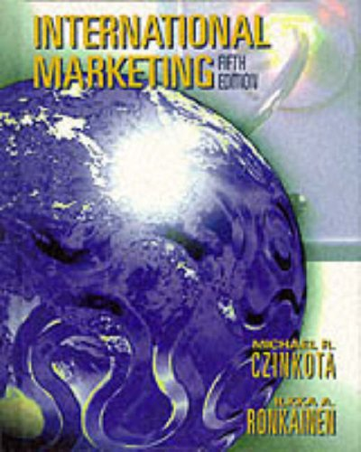 International Marketing: Ronkainen Ilkha A.