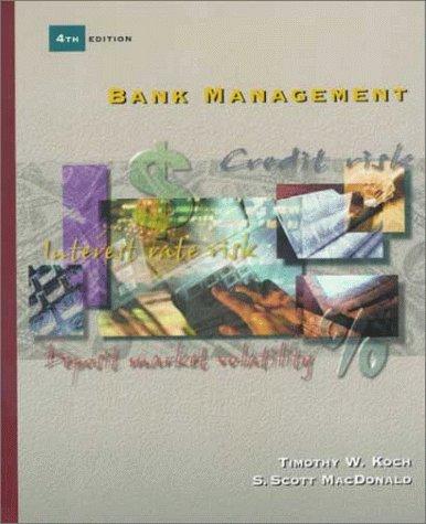 Bank Management: Timothy W. Koch,