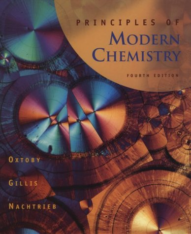 9780030244278: Principles of Modern Chemistry
