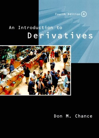 9780030244834: An Introduction to Derivatives