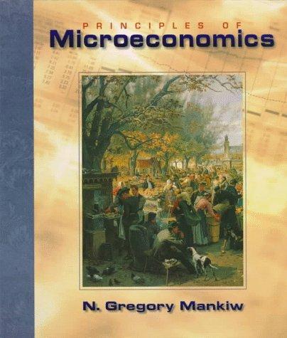 9780030245022: PRINCIPLES OF MICROECONOMICS
