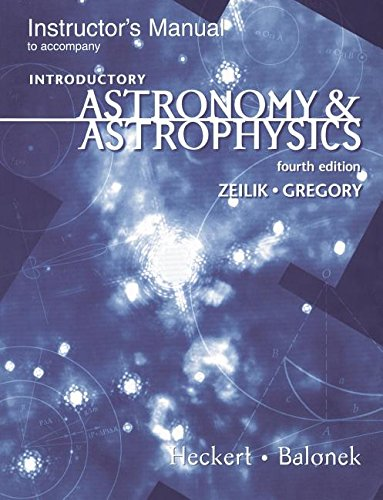 9780030245572: Introduction to Astronomy & Astrophysics