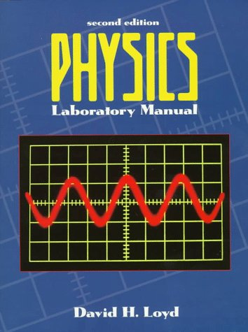 9780030245619: Physics Laboratory Manual