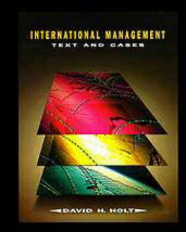 9780030245749: International Management: Text and Cases
