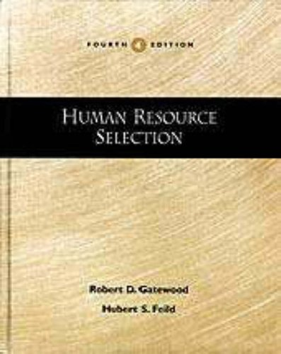 9780030245961: Human Resource Selection