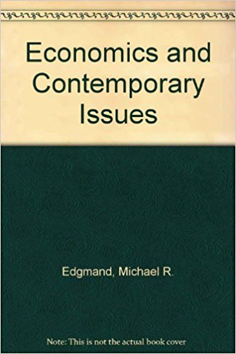 9780030246678: Economics and Contemporary Issues (The Dryden series in economics)