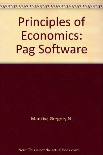 9780030247194: Principles of Economics: Pag Software