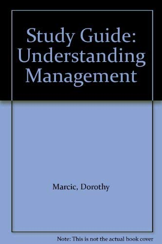 9780030247378: Study Guide: Understanding Management