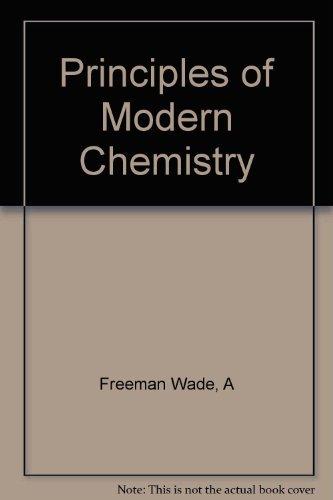 9780030247514: Principles of Modern Chemistry