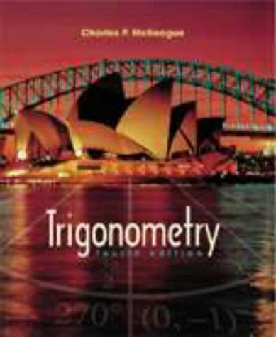 9780030247835: Trigonometry