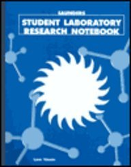 9780030247934: Saunders Student Laboratory Research Notebook