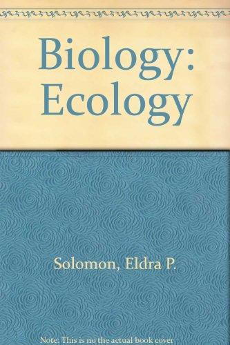 9780030248436: Biology: Ecology