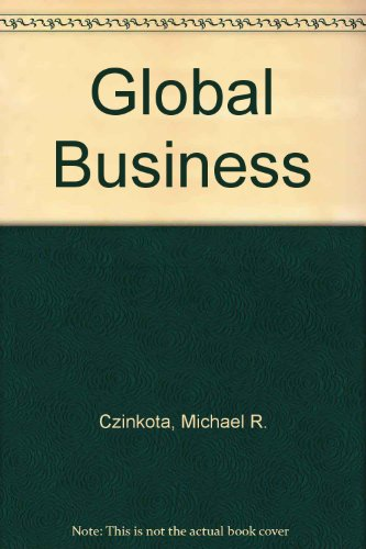 9780030248887: GLOBAL BUSINESS, 2/E