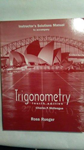 9780030249693: Trigonometry