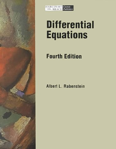 9780030249860: Elementary Differential Equations With Linear Algebra