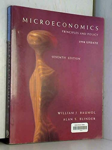 9780030250514: Microeconomics: Principles and Policy