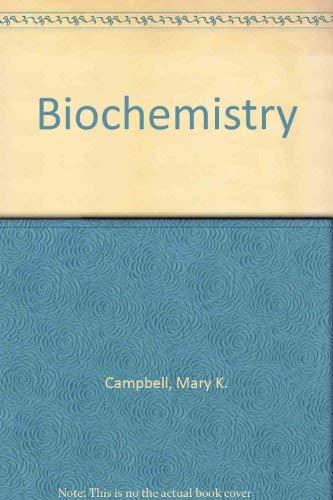 9780030250729: Biochemistry