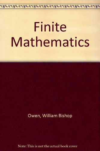 9780030250873: Finite Mathematics
